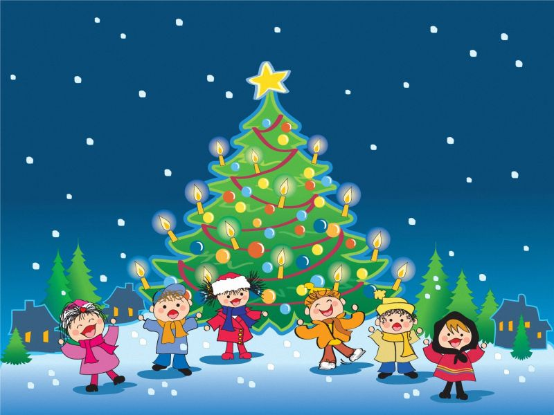 La navidad infantil