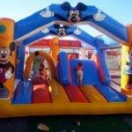 Castillo Mickey 7x7m