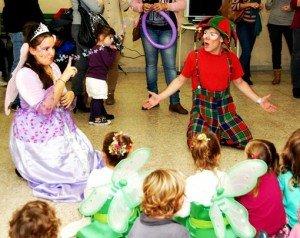 Animadores, magos y payasos para comuniones en Benidorm