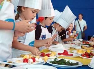 talleres cocina niños