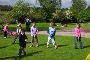 Juegos para niños en fiestas infantiles