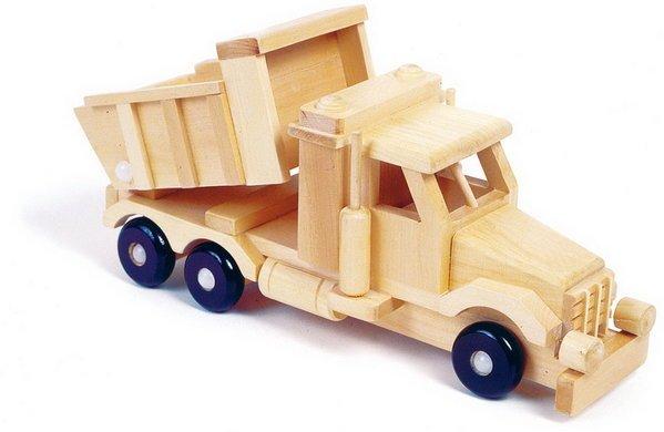 Cómo hacer juguetes de madera para niños