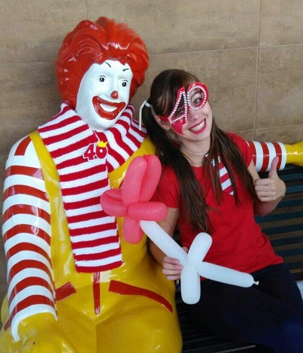 Aniversario de la Casa Ronald de Valencia con Animaciones AEIOU