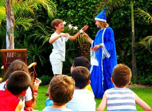 truco de magia infantil palomitas