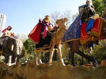 Cabalgata de Reyes en Almería