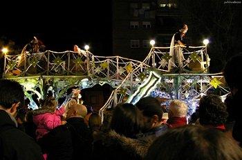 Cabalgata de Reyes en Murcia