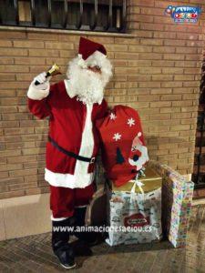 La visita de Papá Noel a domicilio en Almería
