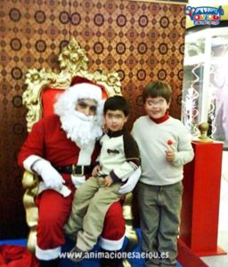 La visita de Papá Noel en Valencia, Alicante, Murcia y Almería