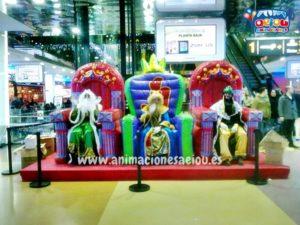 animadores fiestas para niños navidad almería