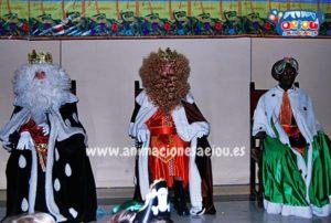 Contratar la visita de los Reyes Magos a domicilio en Castellón