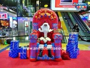 Contratar la visita de Papá Noel a domicilio en Valencia, Alicante, Murcia y Almería