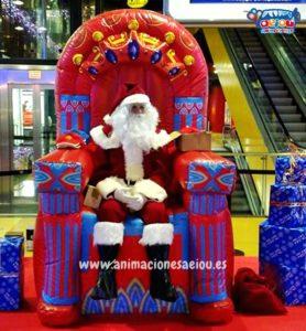 fiestas infantiles navidad las almería