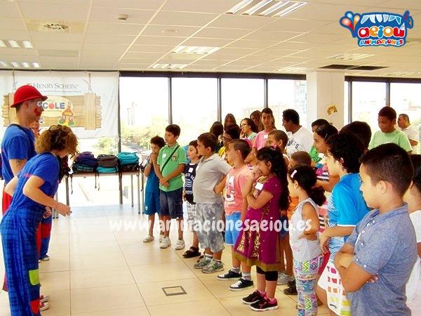 Animadores infantiles para fiestas de cumpleaños