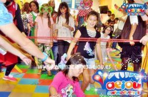 Juegos infantiles para fiestas y cumpleaños.