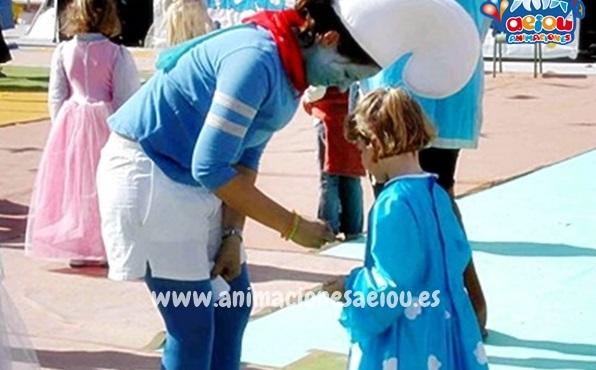 animadores cumpleaños Almería