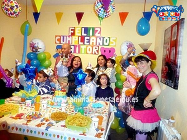 animadores para fiestas de cumpleaños infantiles en Albacete