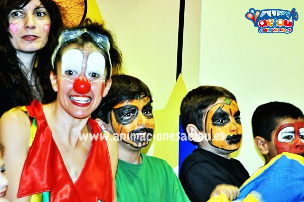Animadores para fiestas de cumpleaños infantiles en Castellón