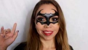 Maquillarse de Batman