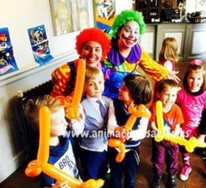 Payasos fiestas infantiles en Castellón