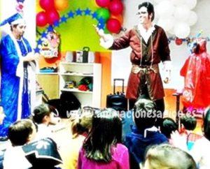 Fiestas de magos en Almería