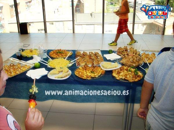 Catering para fiestas infantiles en Almería a domicilio
