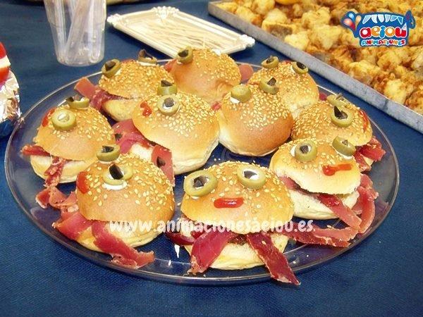 Catering para fiestas infantiles en Elche a domicilio