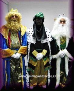 Reyes Magos a domicilio en Castellón para fiestas de Navidad
