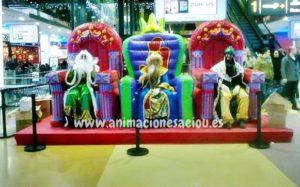 Reyes Magos a domicilio en Valencia, Alicante, Murcia y Almería