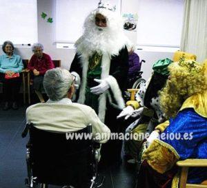 Contratar la visita de los reyes magos en Murcia