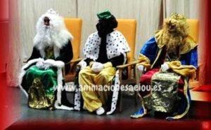 Reyes magos a domicilio en Elche
