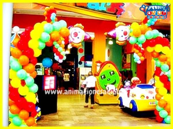 Decoraci n de fiestas infantiles en valencia alicante y for Decoracion globos valencia