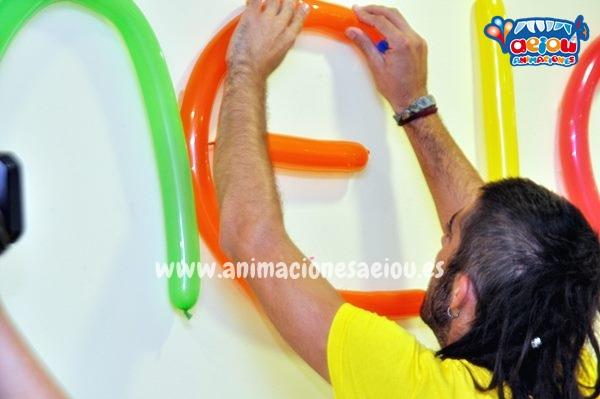 Decoración de fiestas infantiles en Valencia, Alicante, Murcia y Almería a domicilio