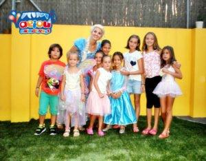 Animaciones para fiestas temáticas infantiles Frozen en Almería
