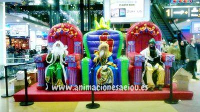 ¿Cómo contratar la visita de los Reyes Magos en Navidad?