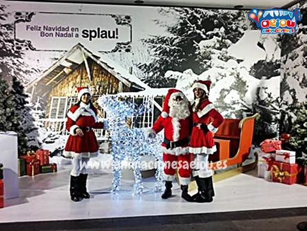 La navidad con Papá Noel a domicilio en Albacete
