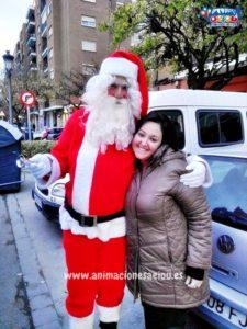 Papá Noel a domicilio en el Elche