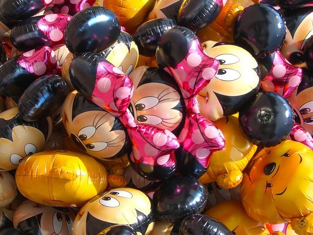 Ideas de decoración en los cumpleaños infantiles de Disney