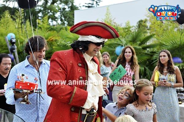 Alquiler de personajes y muñecos de Piratas en Albacete