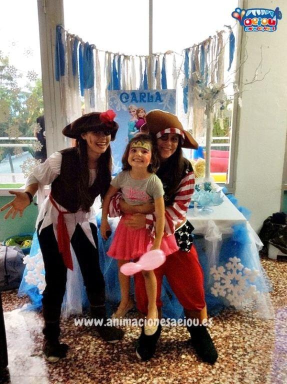 Animaciones divertidas para fiestas Piratas en Elche