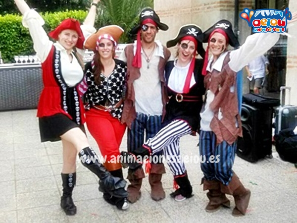 Animadores para fiestas temáticas con Piratas en Albacete
