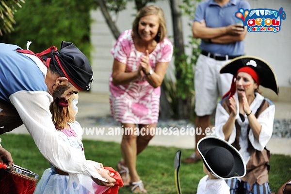 Fiestas de cumpleaños infantiles de Piratas en Elche