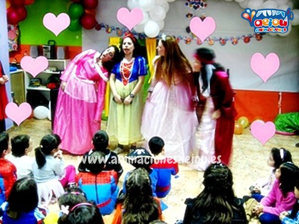 Animadores para fiestas temáticas de princesas