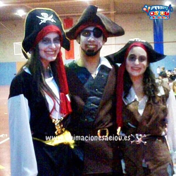 Animaciones para fiestas temáticas con Piratas en Valencia, Alicante, Murcia, Almería