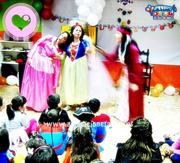 Animadores para fiestas temáticas de princesas en Albacete