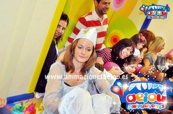 Fiestas de cumpleaños infantiles temáticas de princesas en Albacete