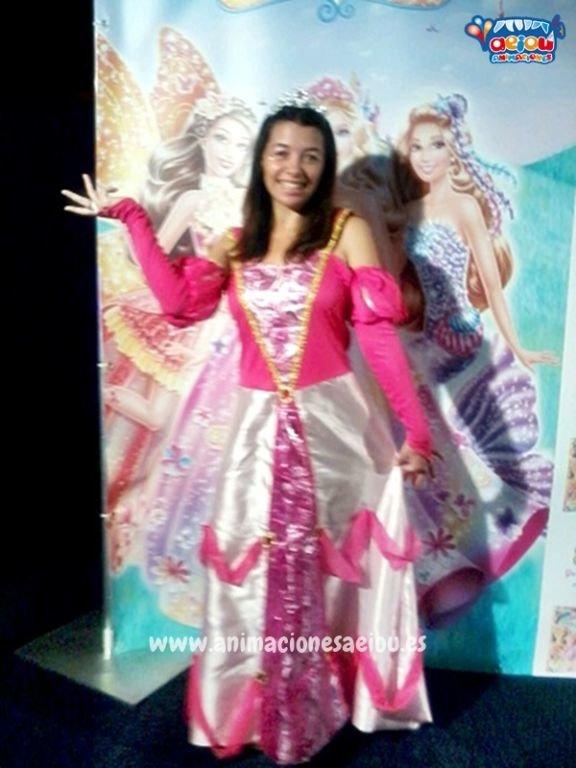 Fiestas de cumpleaños infantiles temáticas de princesas en Castellón
