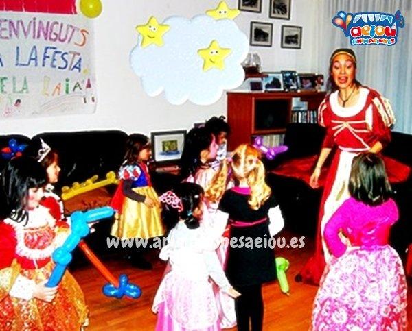 Animadores para fiestas temáticas de princesas en Castellón