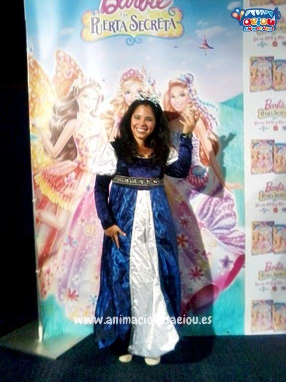 Animadores para fiestas temáticas de princesas en Elche