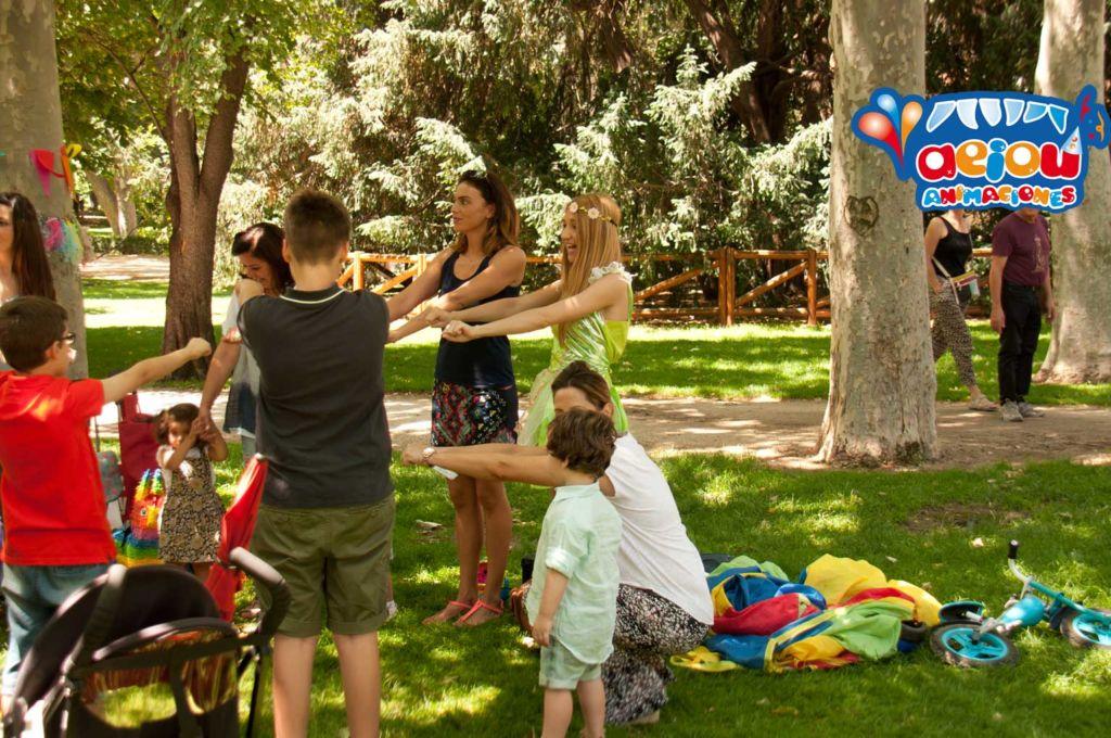 5 ideas para fiestas al aire libre-niños