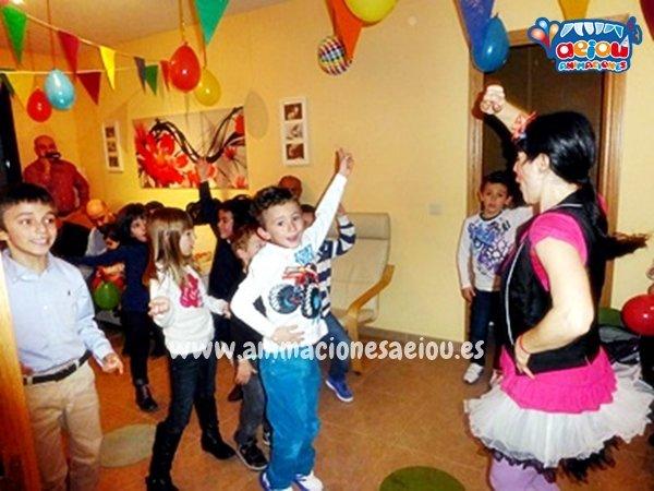 Actividades y juegos infantiles para fiestas infantiles en Castellón